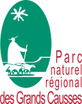 logo parc grands causses aveyron